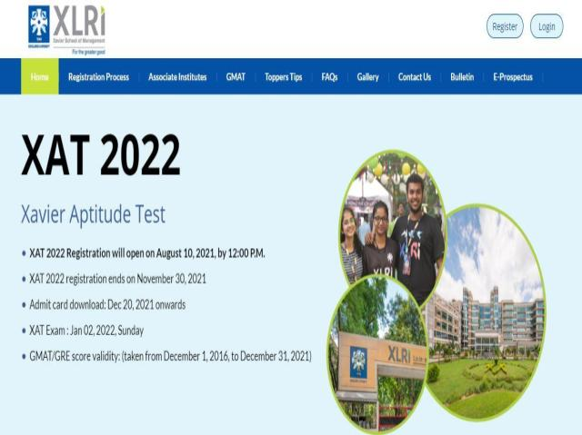 XAT 2021 Registration And Application Process
